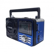 Radio Portatil Fsound 9 Faixas Fm/am/usb/sd/bater
