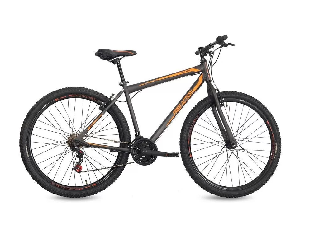 Bicicleta Free Action Aro29 Flexus 1.0 21v Gra/lar