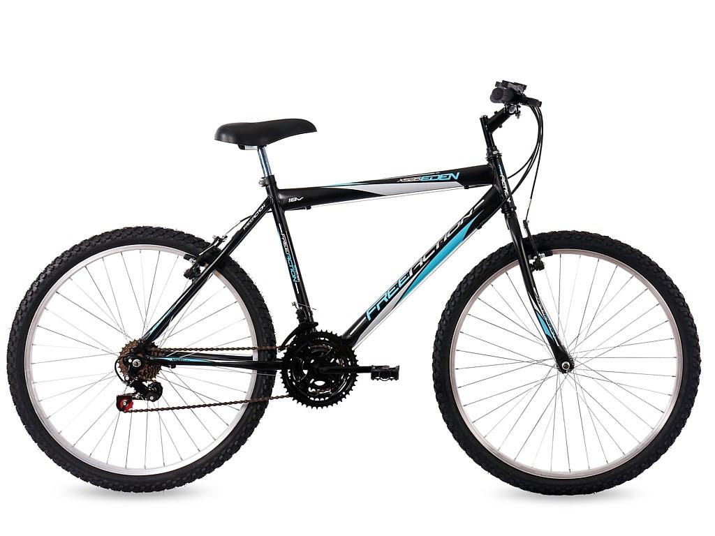 Bicicleta Free Action Xs26 Eden Aro26 18m Masc. Pr