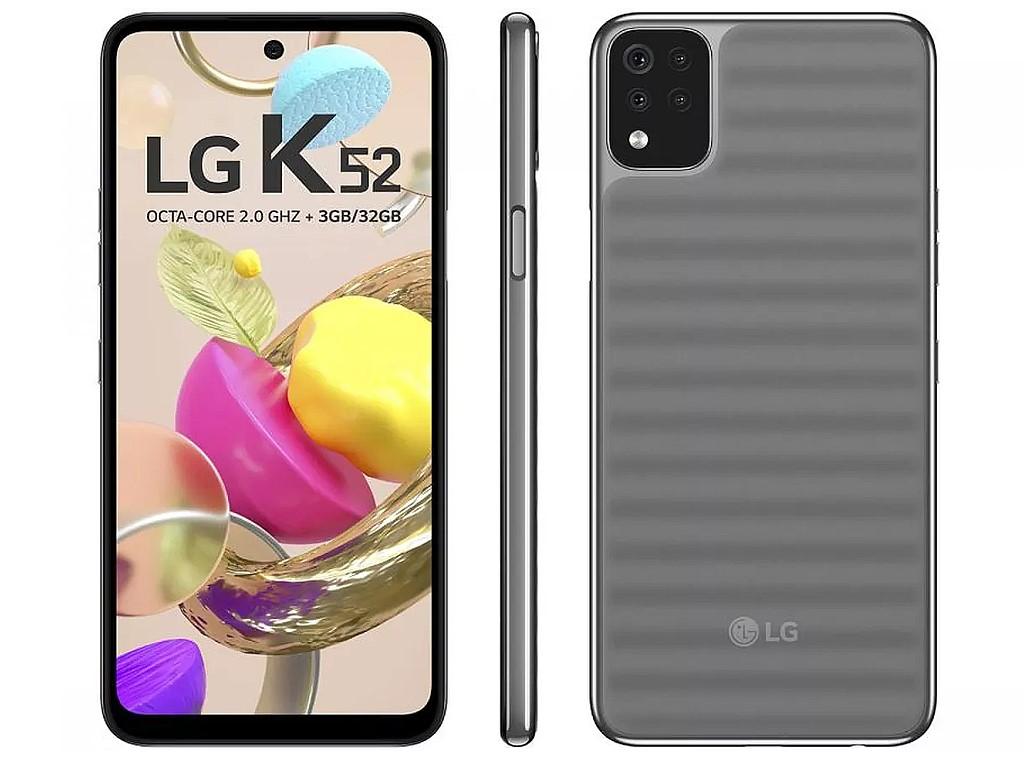 Celular Lg K52 420bmw 64gb Cinza Rcell