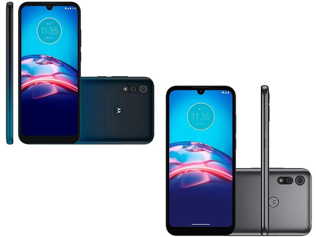 Celular Motorola Moto E6s Xt2053 32gb Titanium Rce