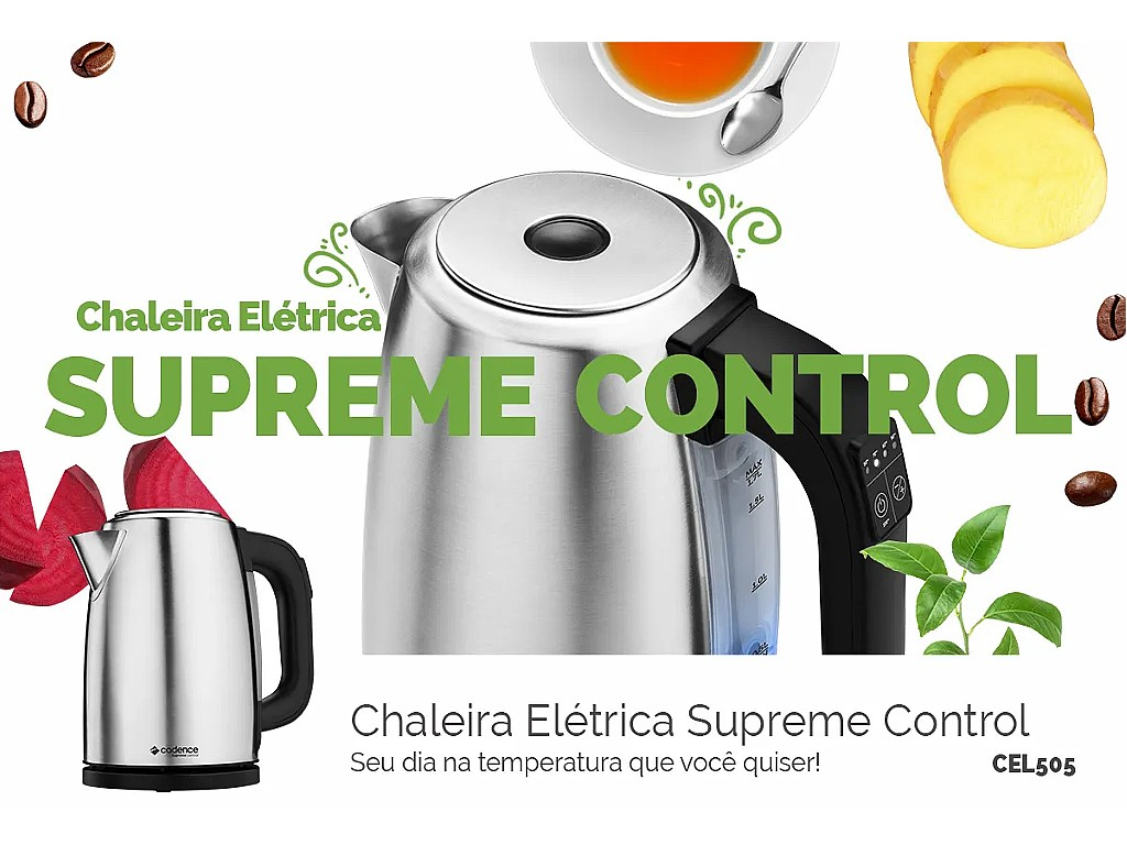 Chaleira Eletrica Cadence Cel505 1.7l