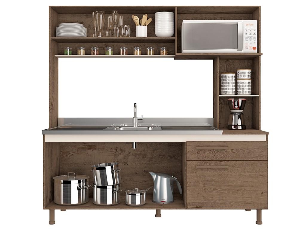 Cozinha Atualle Marselha Cane/rust/nat
