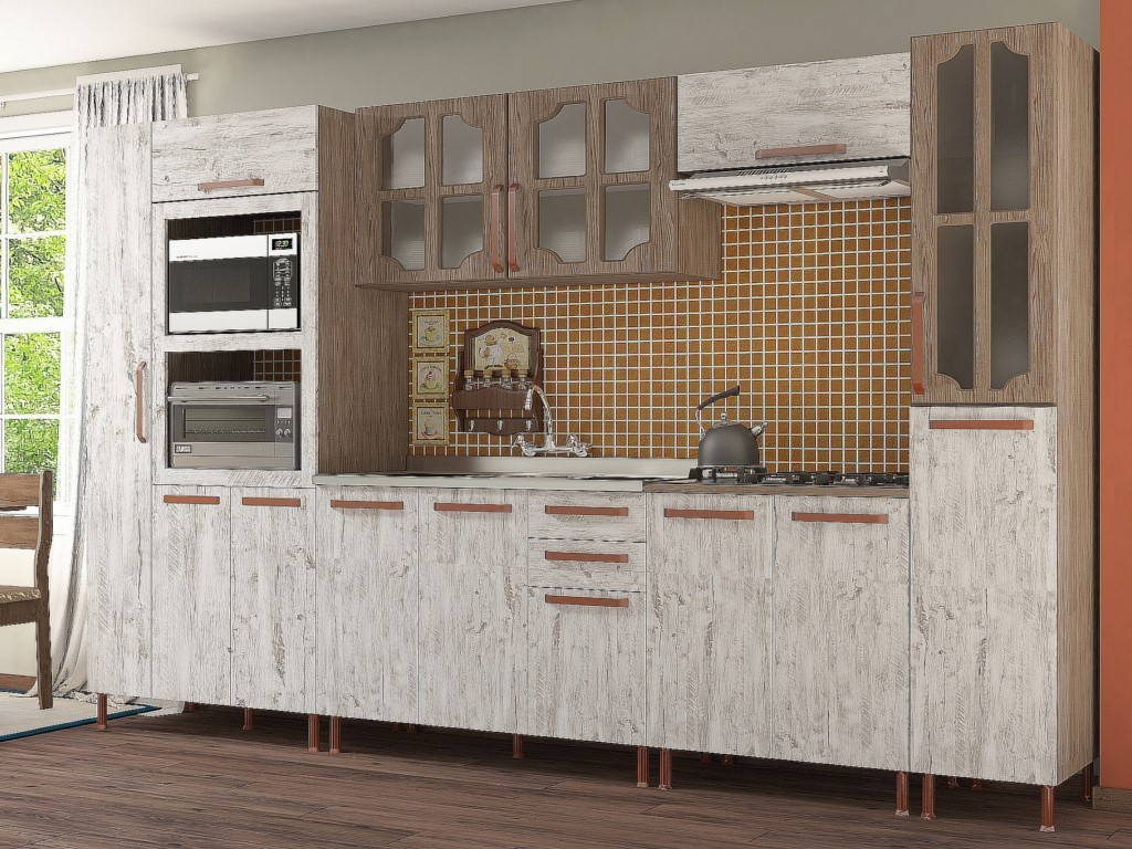 Cozinha Completa Indekes Gold
