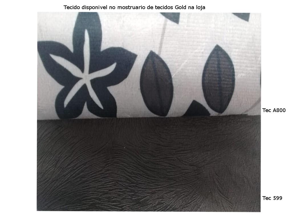 Estofado Gold Topazio 2 2+cant+2 Tec 599/a800
