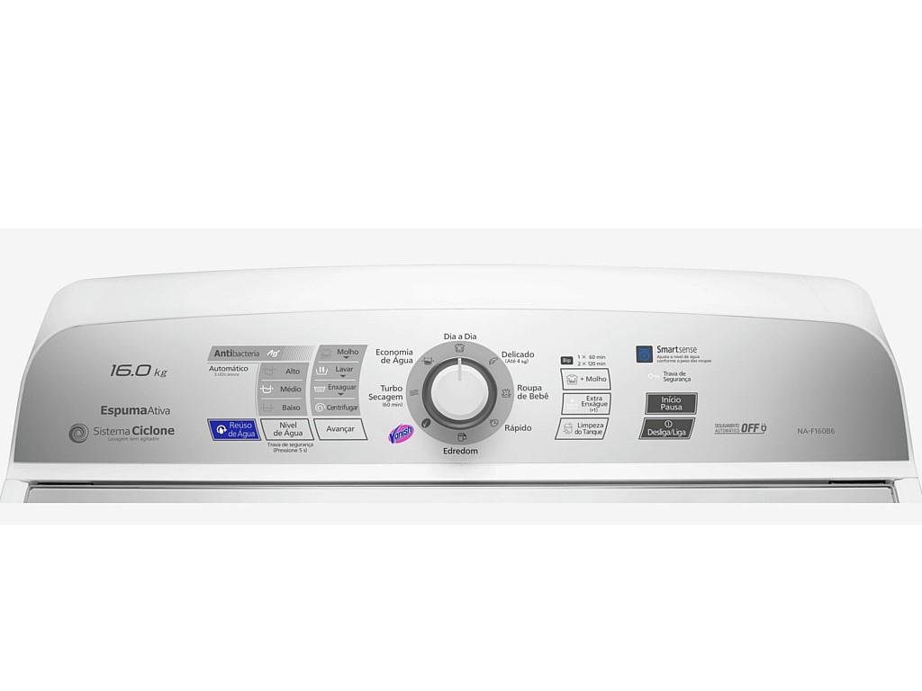 Lava Roupa Panasonic Na F160 Br