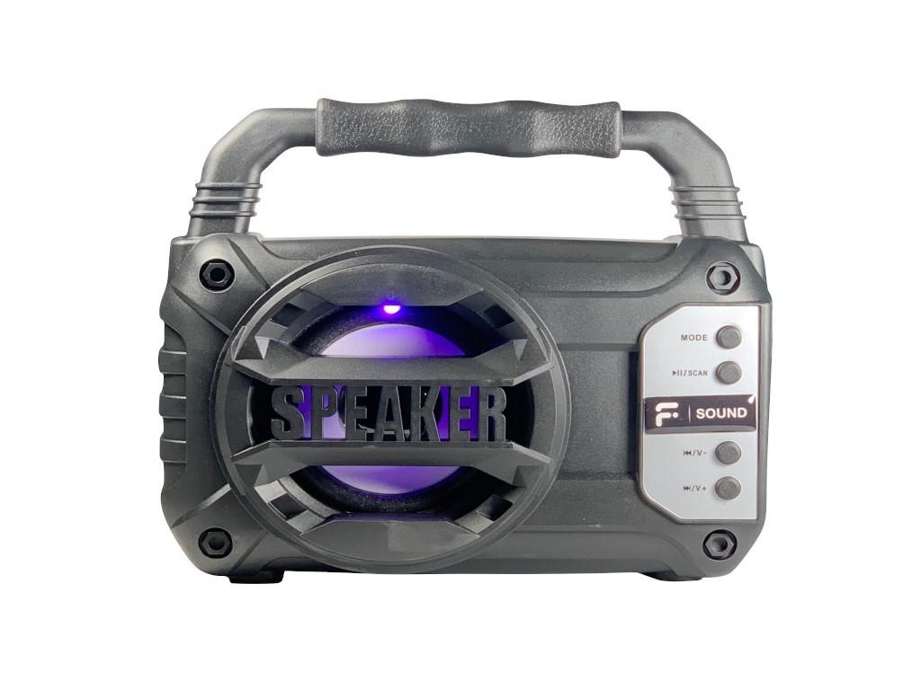 Radio Portatil Fsound Speaker Fs-619 Fm/usb/sd/bat