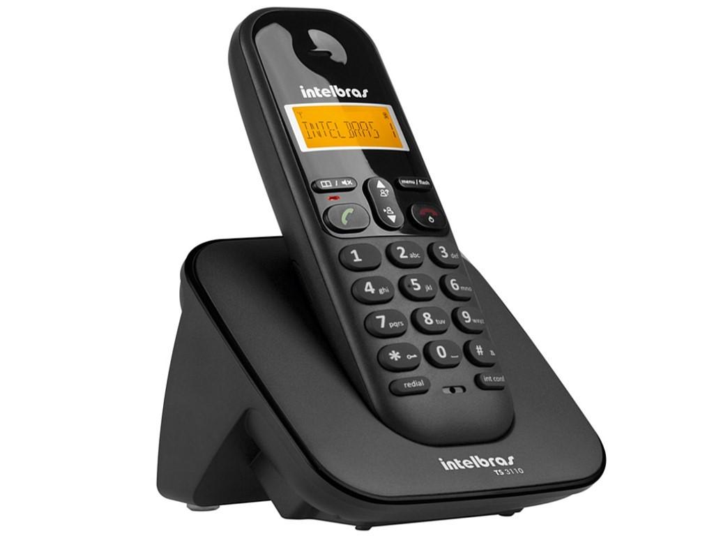 Telefone Intelbras S/fio Ts3110 C/id