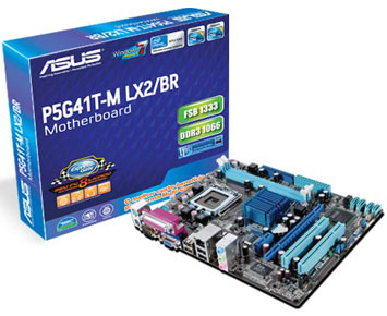 Placa Mãe P5G41T-M LX2/BR - Asus
