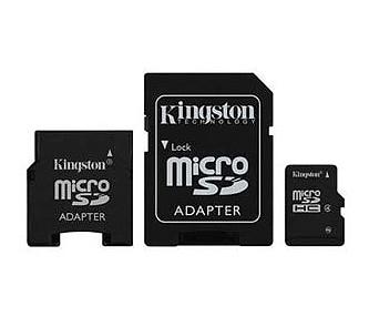 Cartão de Memória  2Gb Micro SDC/2GB-2ADP com 2 Adaptadores - Kingston
