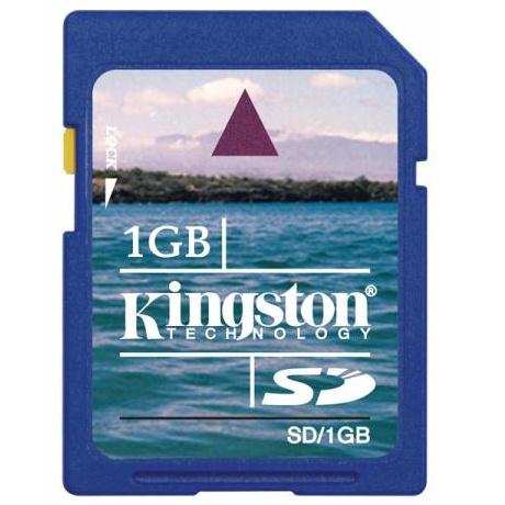 Cartão de Memória SD/1GB - Kingston