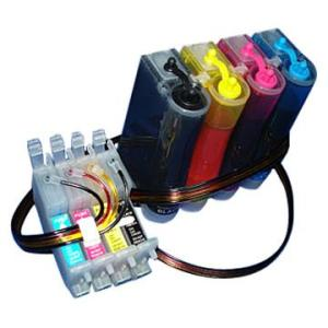 Bulk Ink para Impressora Epson T23 T24 Tx105 Tx115 com Botão Reseter