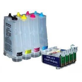 Bulk Ink para Impressora Epson TW40 / TX550W / TX600 com Botão Reseter