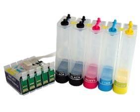 Bulk Ink para Impressora Epson T33 com 5 Cores com Botão Reseter
