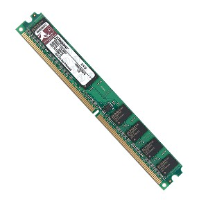 Memória DDR-2 1GB 667MHZ KVR667D2N5/1G - PC5300  Kingston