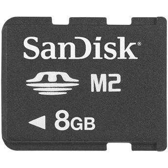 Cartão de Memória Memory Stick M2 8GB - SanDisk