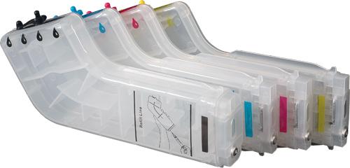 Bulk Ink Max Combo HP k550 / k5400 / L7580 /  L7780 /  L7680 / K8600 s/chip