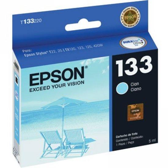Cartucho de Tinta Epson 133 Ciano Original - Epson
