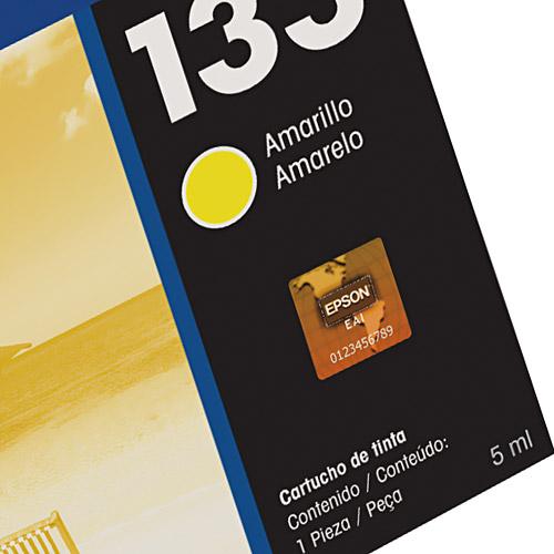 Cartucho de Tinta Epson 133 Amarelo Original - Epson