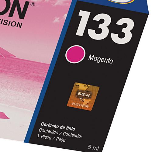Cartucho de Tinta Epson 133 Magenta Original - Epson