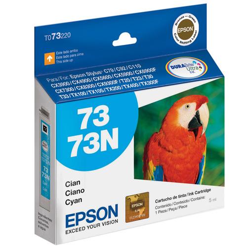 Cartucho de Tinta Epson 73N Ciano Original - Epson