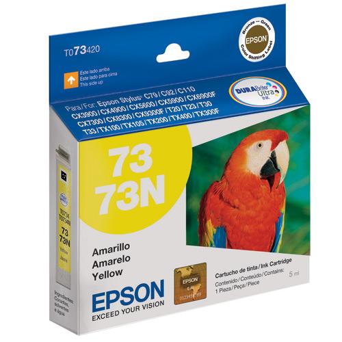 Cartucho de Tinta Epson 73N Amarelo Original - Epson