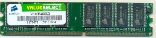 Memória RAM 1GB DDR1 400 Mhz - Corsair
