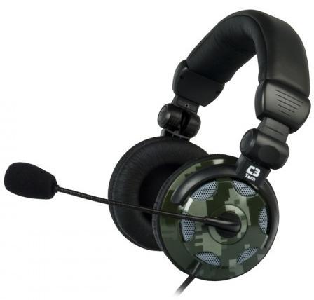 Fone C3 Tech Headset Xcite X 15 Preto C3 Tech