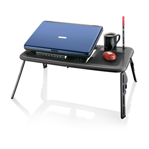 Suporte P/ Notebook Cooler Table Dobrável Preto - Multilaser
