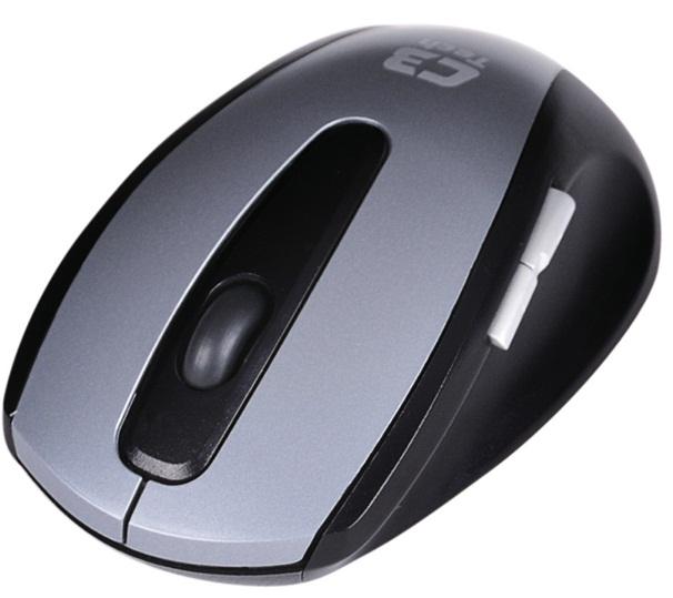 Teclado e Mouse sem fio K-W700 GY - C3 Tech