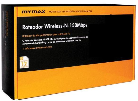 Roteador Wireless 150Mbps MWA/AP-150N-Link - Mymax