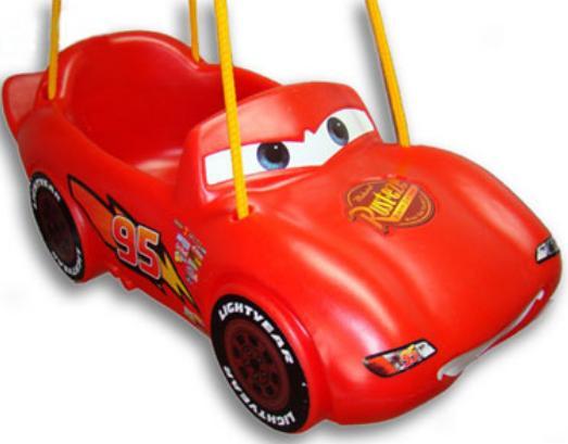 Balanço Carros Disney - Xalingo