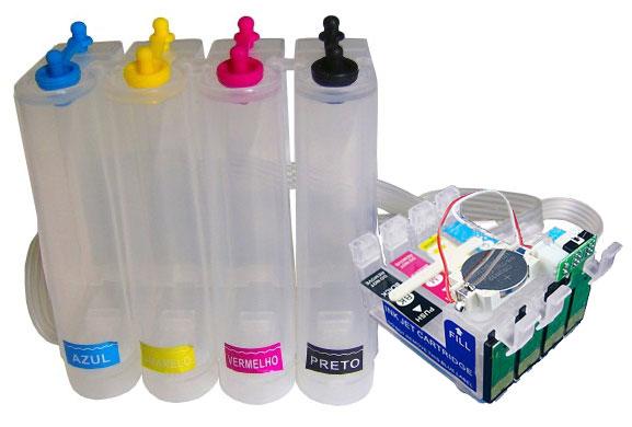 Bulk Ink para Epson T25 Tx123 Tx125 Tx135