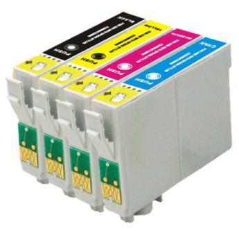 Kit Cartuchos 133 135 Originais Epson para Impressoras Stylus T25 TX123 TX125