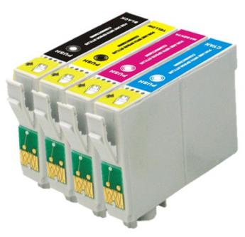 Kit Cartuchos 73N 117 Originais Epson para Impressoras T23 T24 TX105 TX115