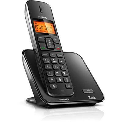 Telefone sem fio Philips SE1701B Luminoso c/ Display e Identificador de Chamadas