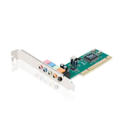 Placa de Som 5.1 PCI - Encore Electronics
