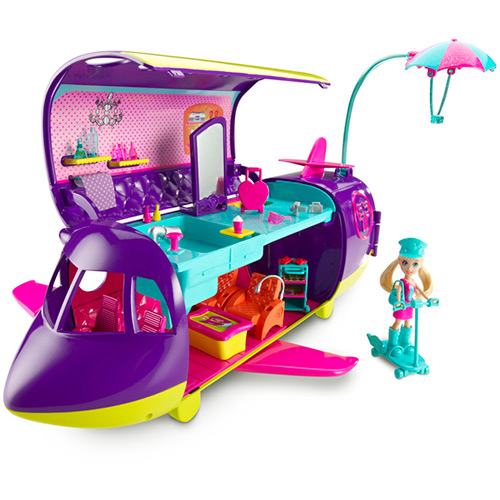 Polly Pocket Avião da Polly - Mattel