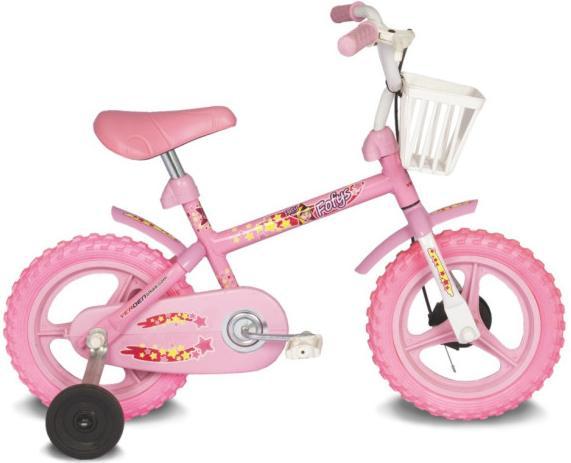 Bicicleta Aro 12 Fofys Rosa - Verden Bikes