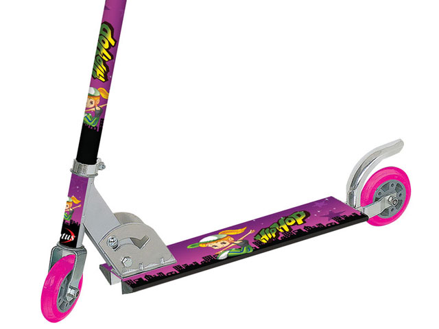 Patinete Stampline Hip Hop Radical Rosa - Lotus