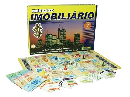 Jogo Mercado Imobiliário - Algazarra