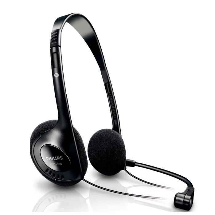 Fone de Ouvido Estéreo para PC Philips SHM1500