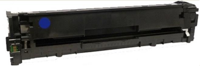 Toner HP CB541A Cyan Compatível com Impressoras CP1215/1515/1518/CM1312 MPF