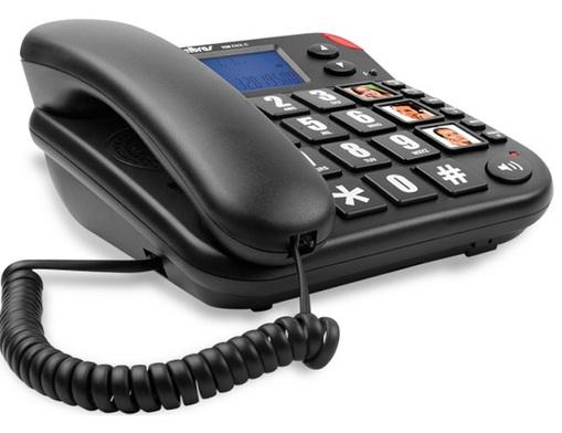 Telefone Tok Fácil com Identificador de Chamas Grafite - Intelbras
