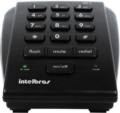 Telefone Analógico com Headset - Intelbras