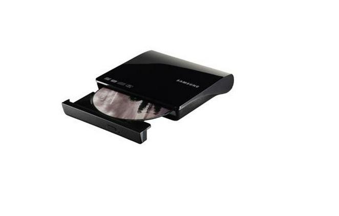 Gravador DVD-RW Externo Slim Portátil SE-208AB USB2.0 Preto - Samsung