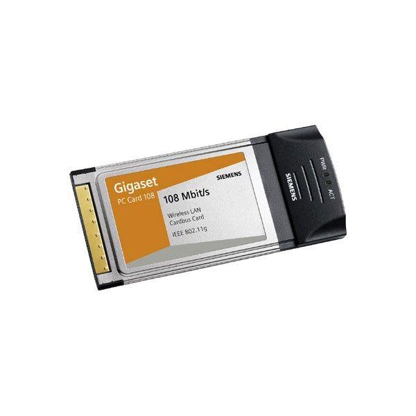 Placa PCMCIA Sem Fio PC Card 108 Mbit/s - Gigaset