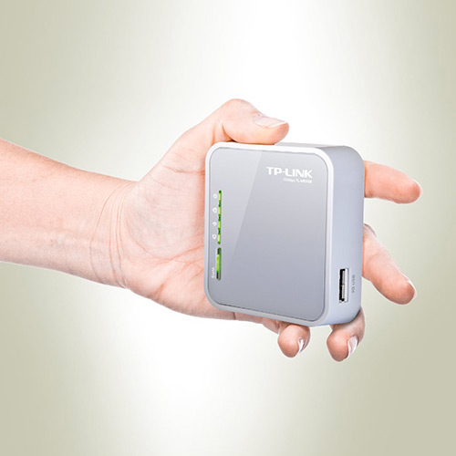 Roteador Portátil 3G Wireless 150Mbps TL-MR3020 - TP-LINK