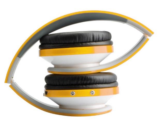Fone de Ouvido Radical Beat MP3 com FM Amarelo - Fortrek