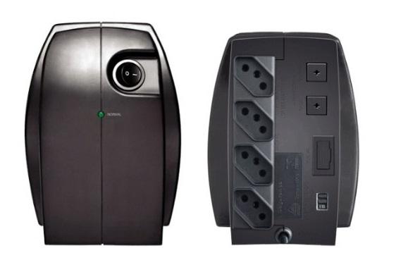 Estabilizador Exxa Power Monovolt 110V 300VA - Enermax
